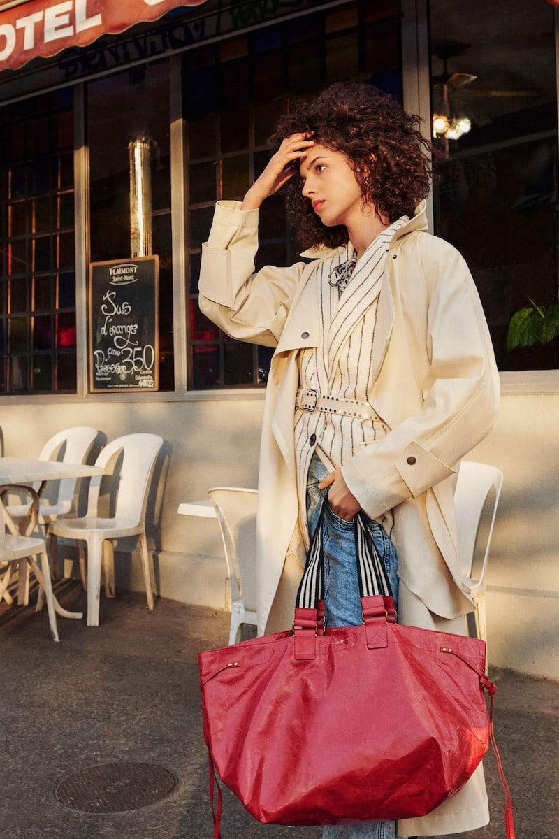Isabel Marant Jamet Cotton Trench Coat