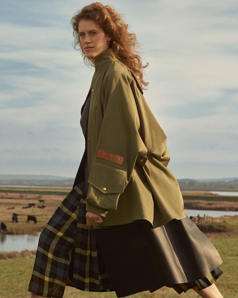 Loewe Military Cotton-Twill Jacket