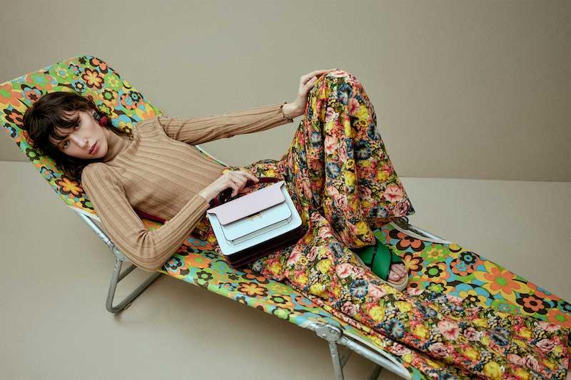 Marni Contrast-Panel Wool Sweater