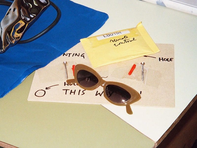 & Other Stories Rounded Cat Eye Sunglasses