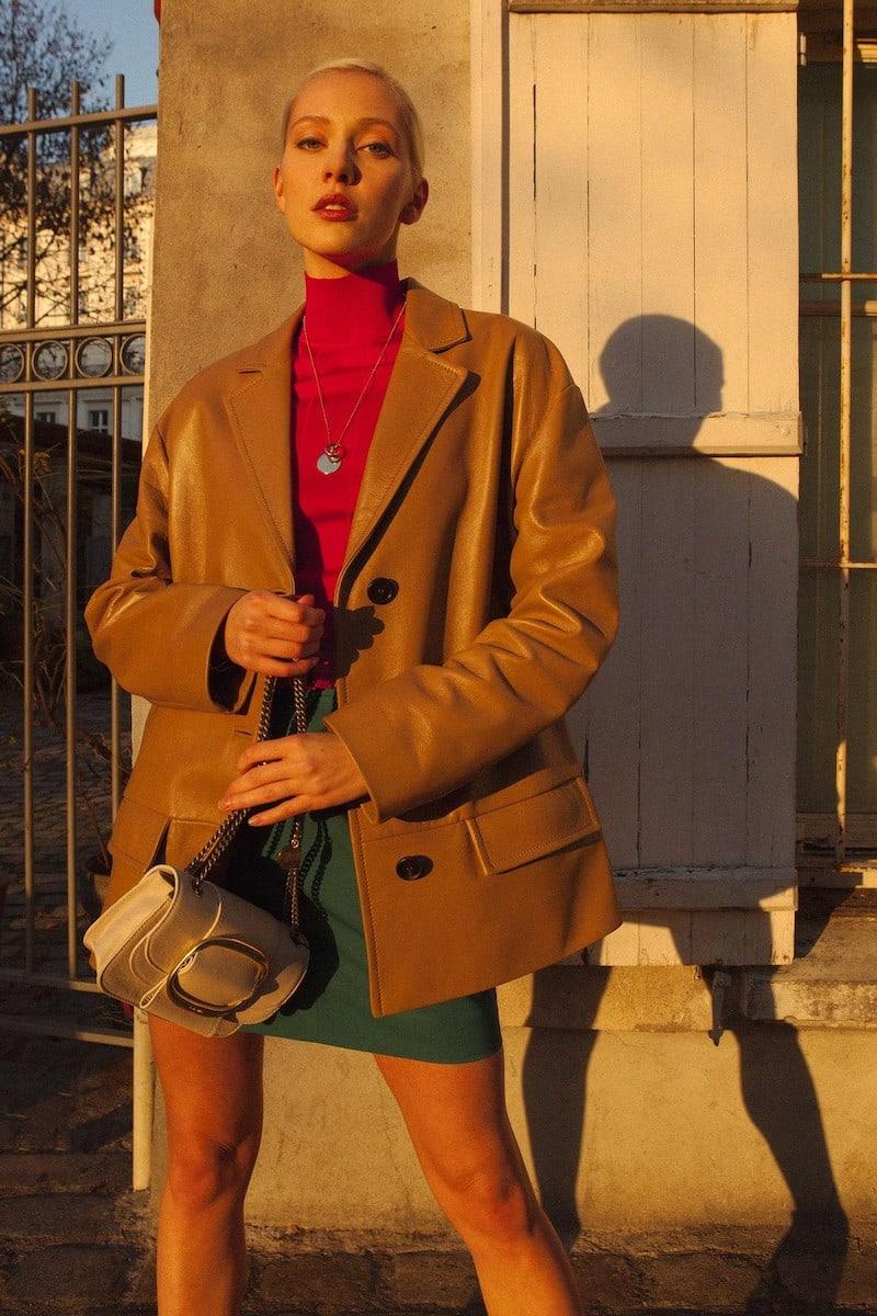 Prada Lambskin Jacket