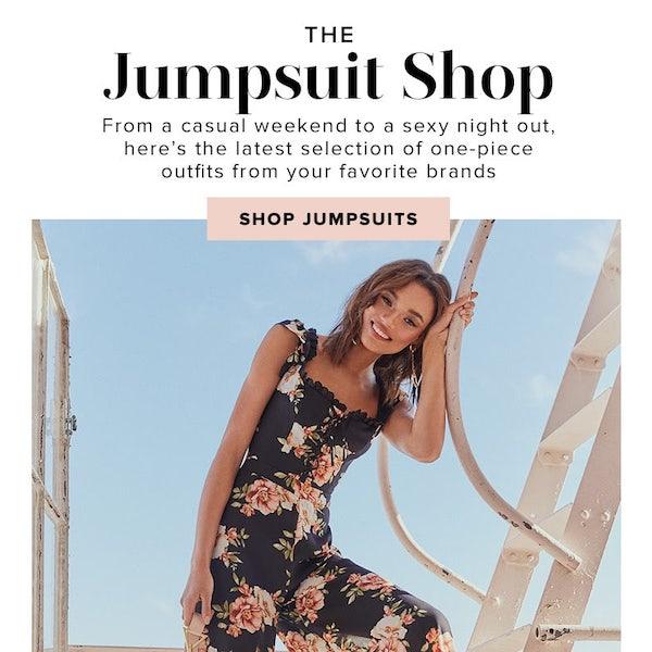 REVOLVE Resort 2019 The Jumpsuit Shop