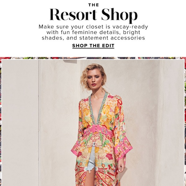 REVOLVE The Resort Shop 2019