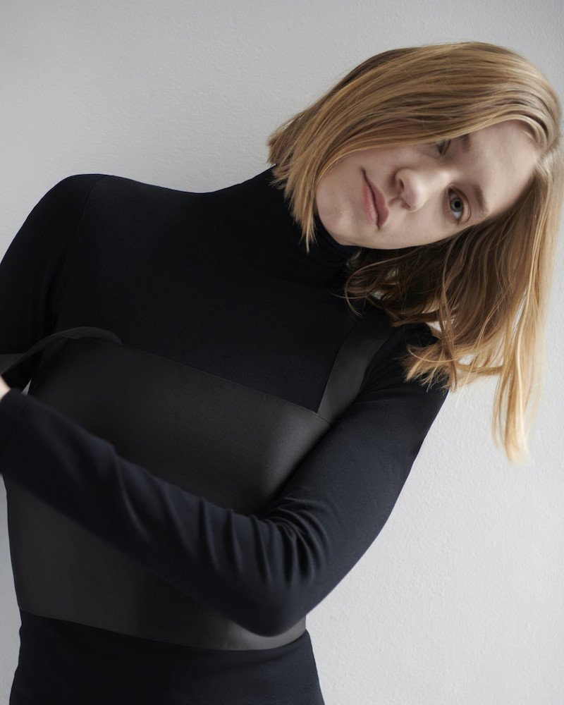 The Row Black Dronia Turtleneck