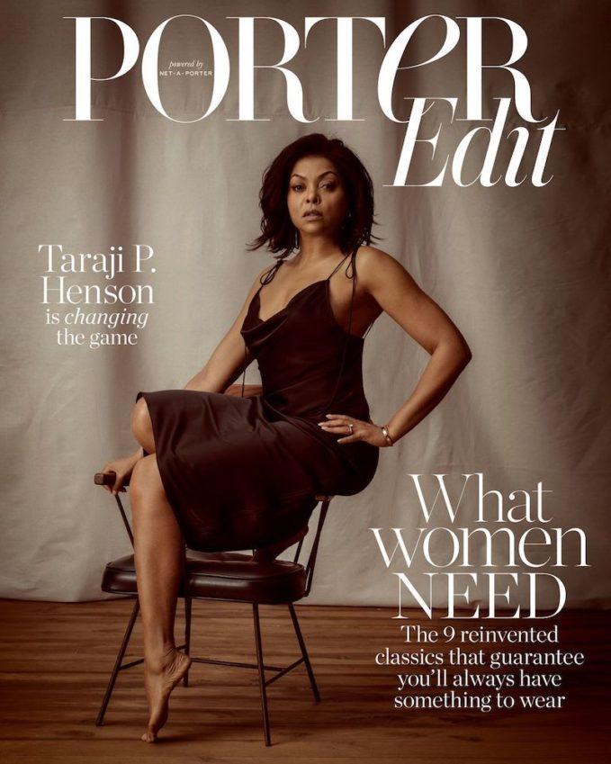 What Women Need: Taraji P. Henson for The EDIT