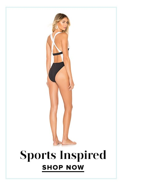 Shop Our Favorite Swim Trends: Sports Inspired