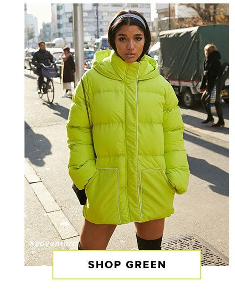 Shop Green.