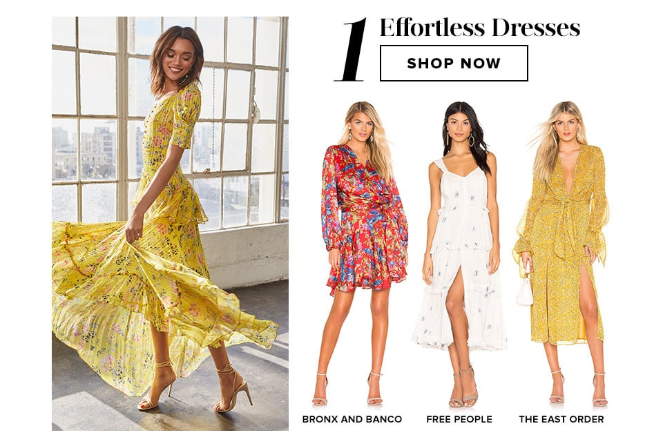 Closet Must-Haves: Effortless Dresses. Shop Now.