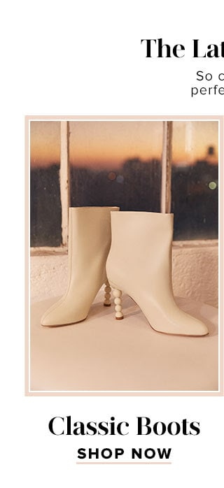 The Latest & Greatest Accessories. So cute booties, must-have heels, and the perfect handbags to tie your looks together. Classic Boots. Shop now.