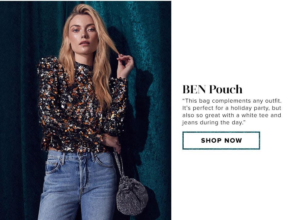 Ben Pouch. Shop now.