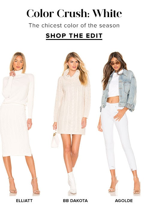 Color Crush: White. Shop The edit