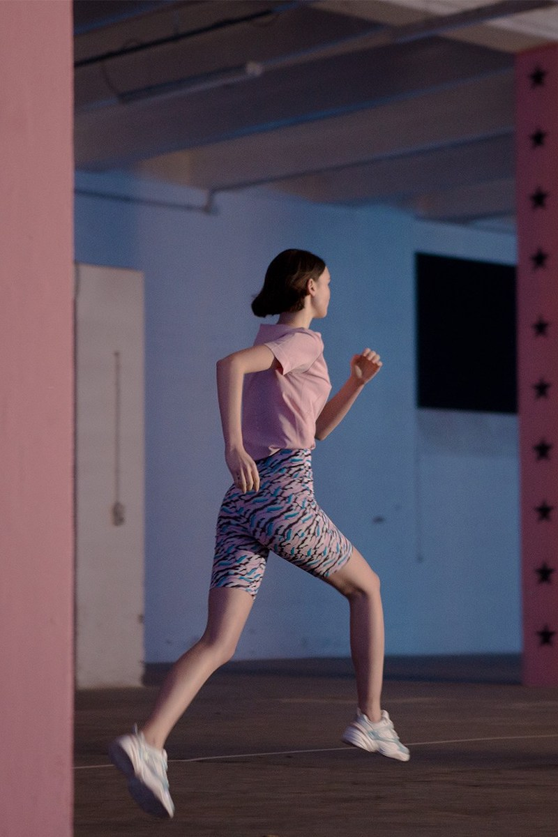 Aalto Printed Stretch Jersey Shorts