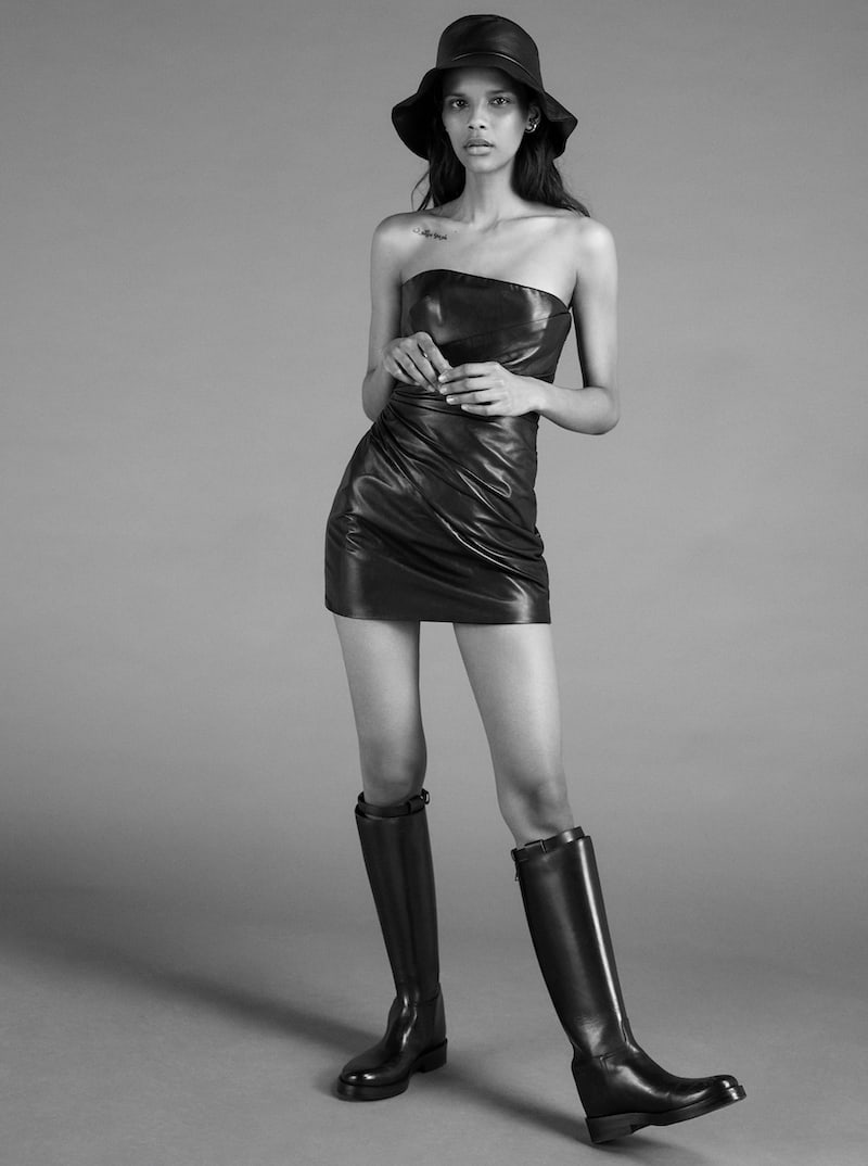 Ann Demeulemeester Buckled Leather Knee Boots