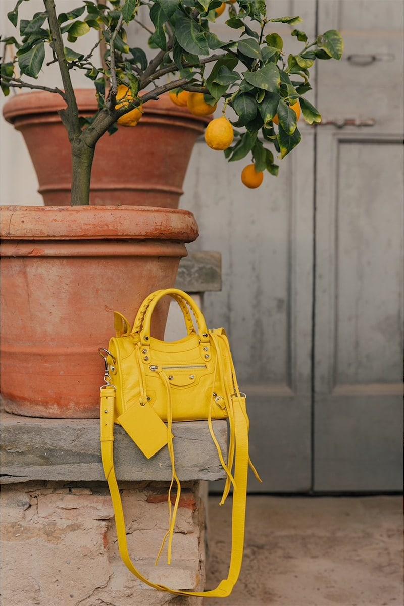 Balenciaga Mini Classic City Leather Bag