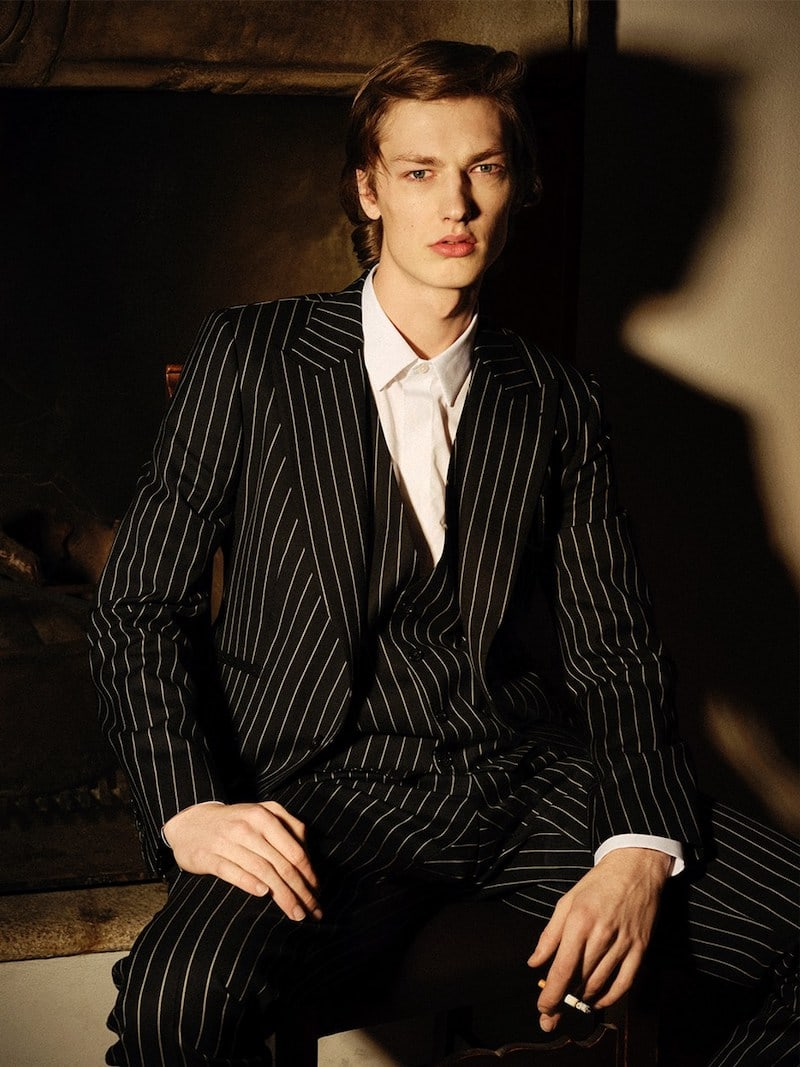 Dolce & Gabbana Sicily Pinstriped Wool Suit