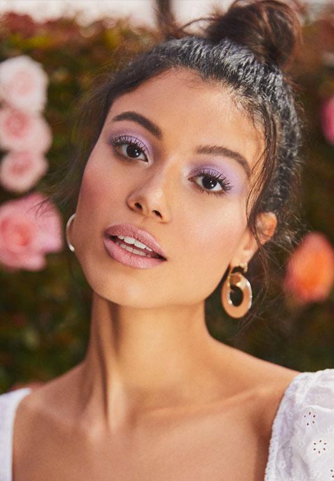 Ettika Drop Hoop Earrings