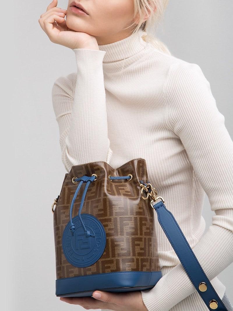 Fendi Mon Tresor Medium Coated Shoulder Bag