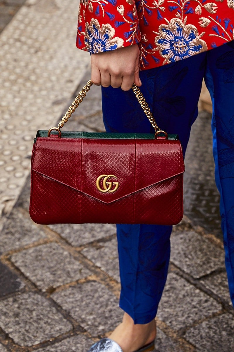 Gucci Double Shoulder Bag