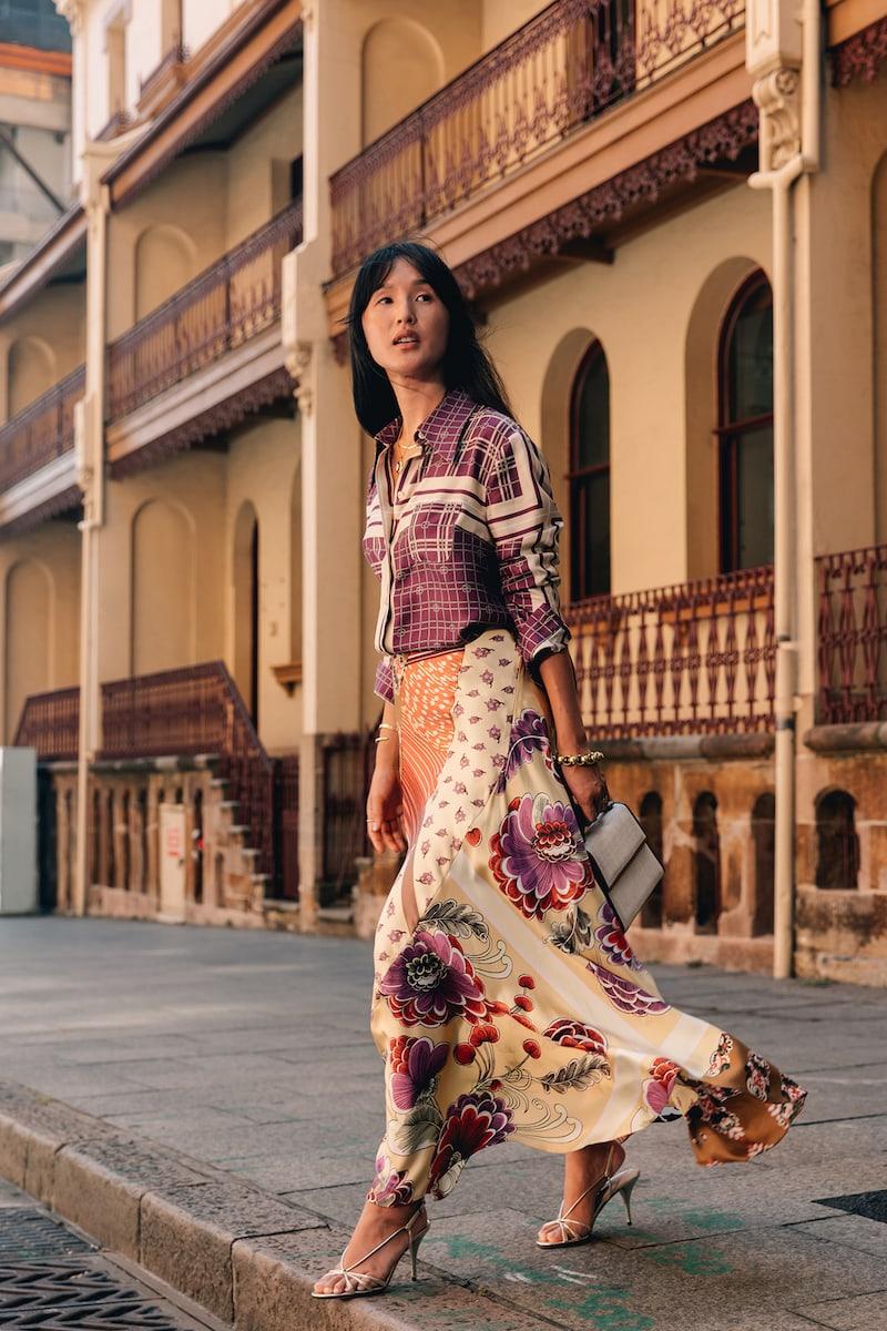 Gucci Printed Silk-Satin Twill Shirt