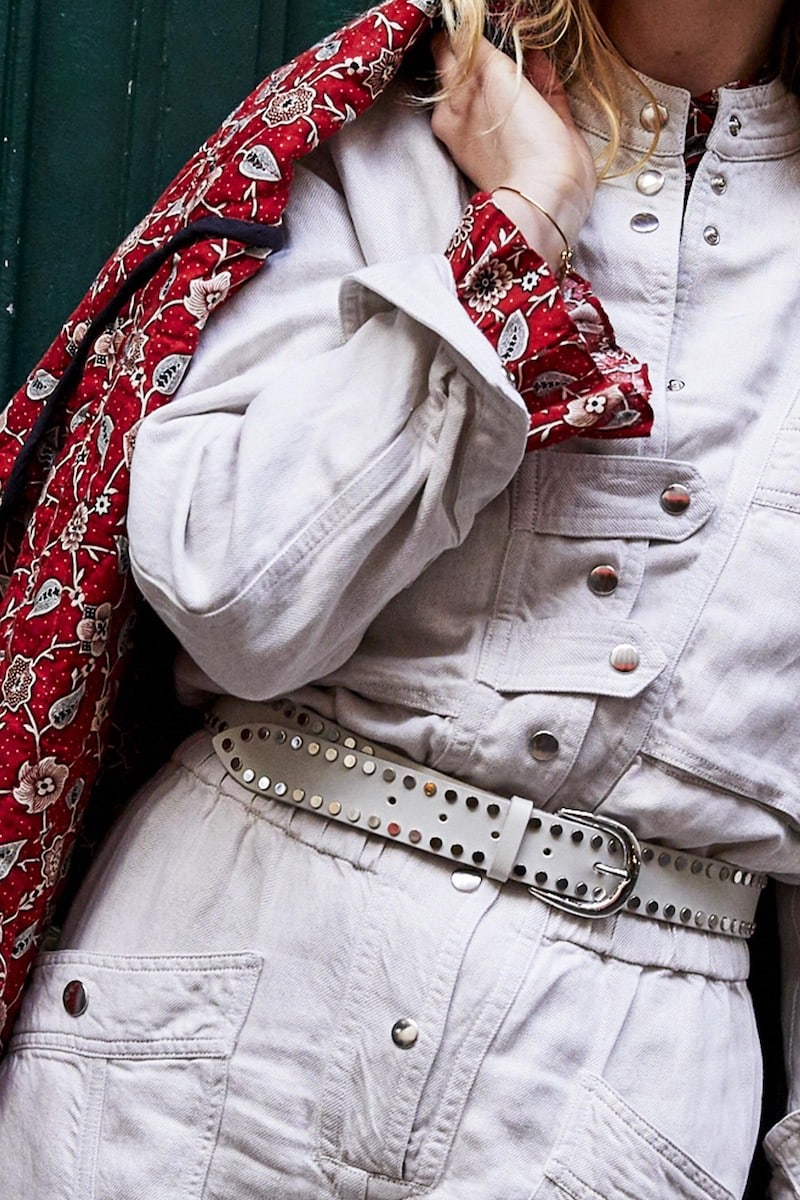 Isabel Marant Wynoo Leather Belt