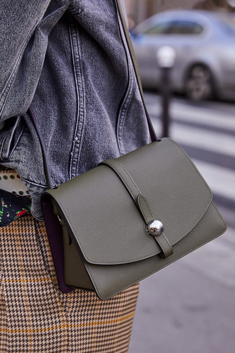 Moynat Madeleine Shoulder Bag