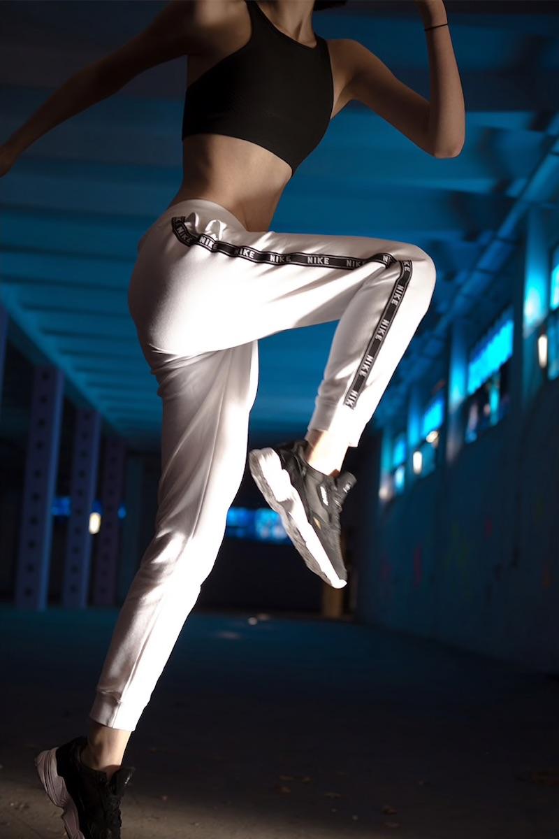 Nike Logo Tape Techno Track Pants