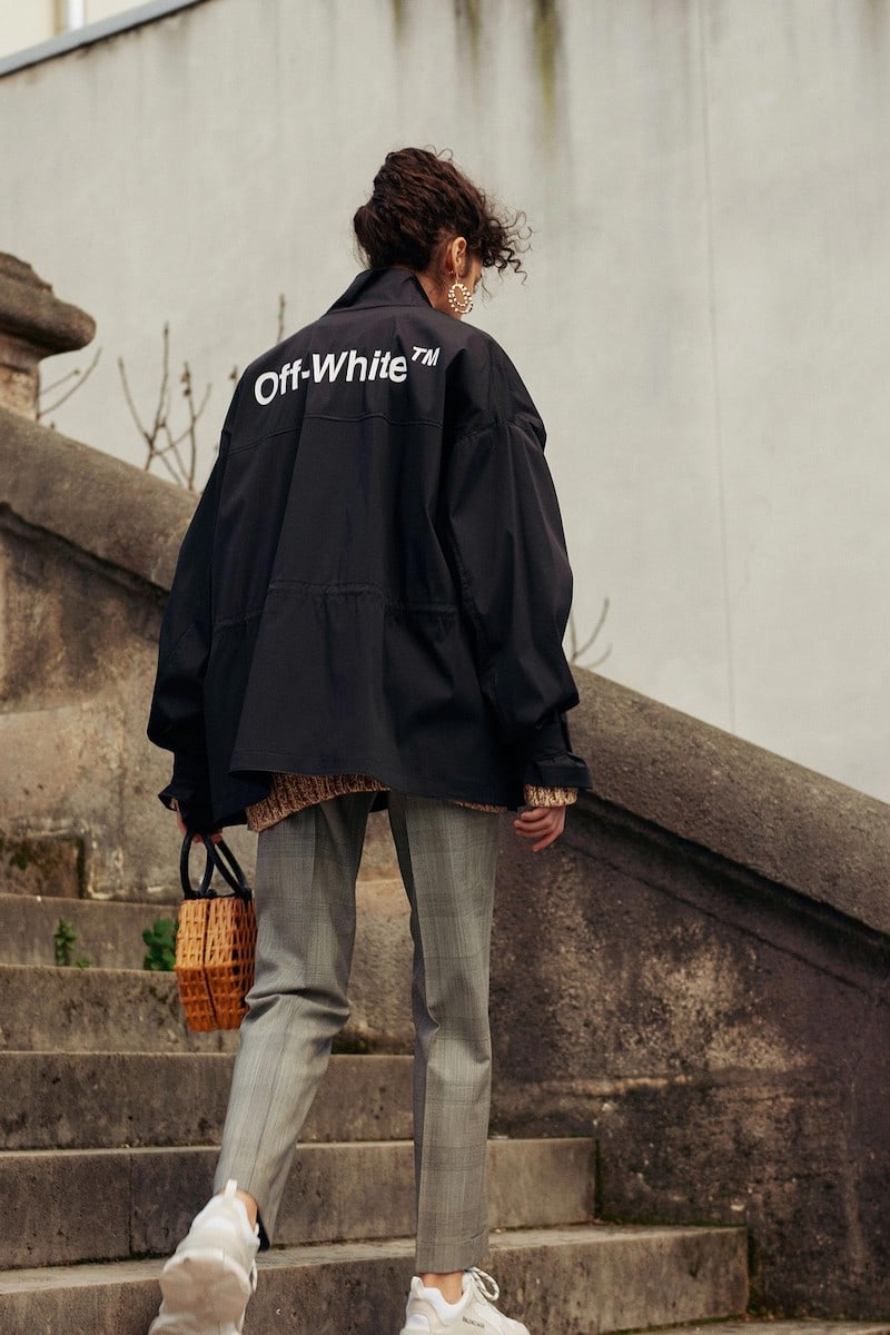 Off-White Stretch Parka