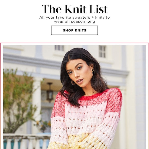 Revolve Resort 2019 The Knit List