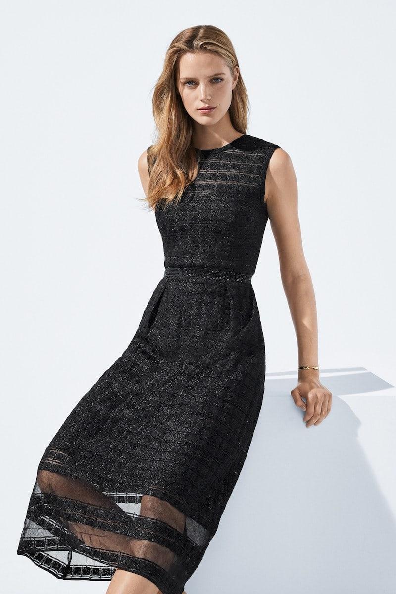 St. John Collection Addison Sleeveless Knit Dress
