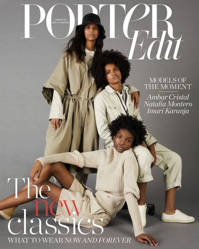 The New Guard: Ambar Cristal, Natalia Montero and Imari Karanja for The EDIT