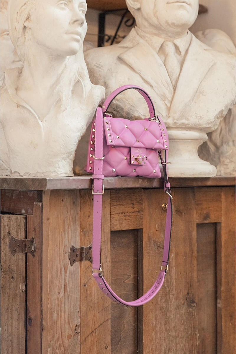 Valentino Garavani Candy Leather Bag