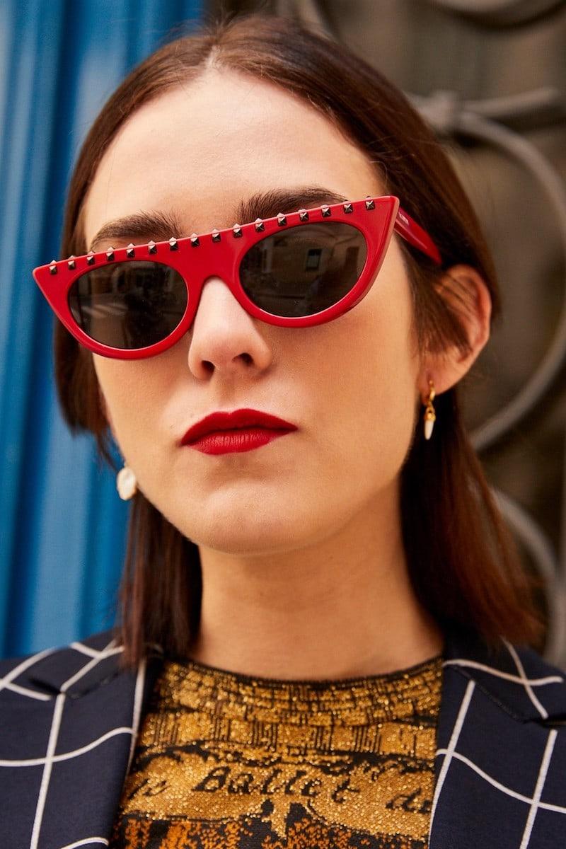 Valentino Valentino Gavarani Soul Studs Sunglasses