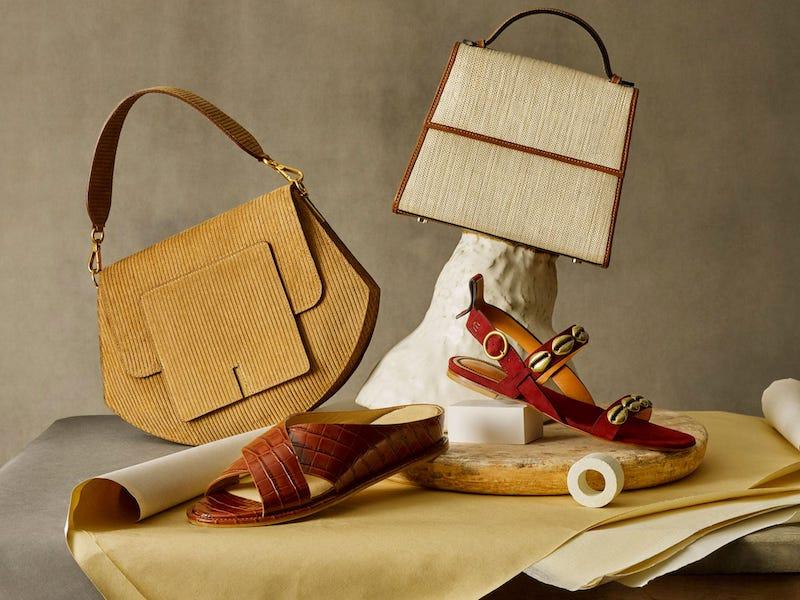Wandler Al Corduroy Cross-Body Bag