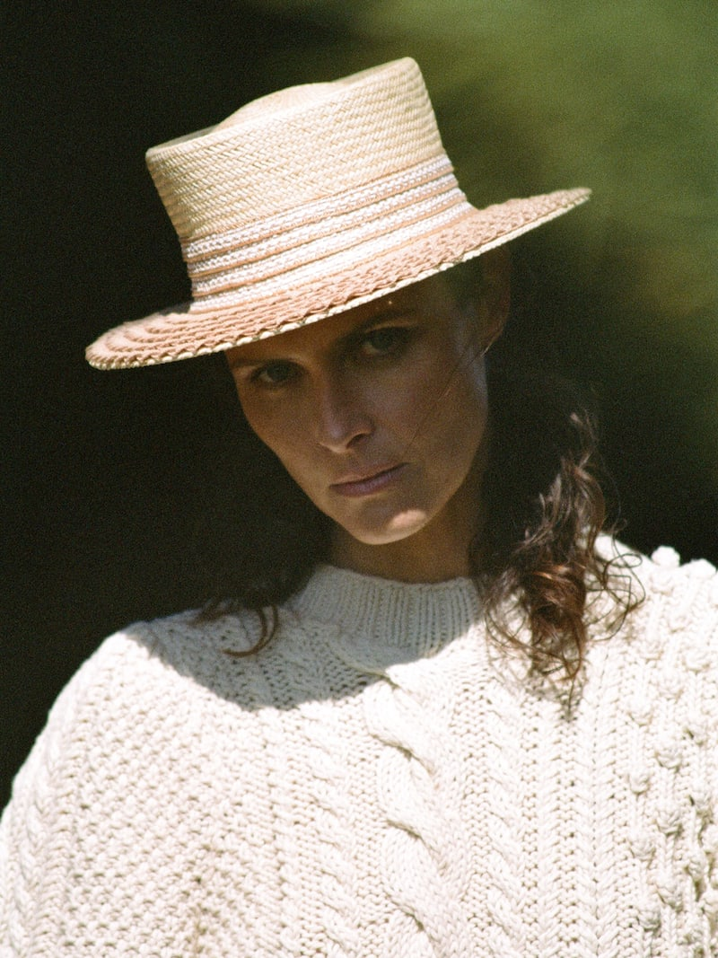 APIECE APART Ermita Cable-Knit Cotton Sweater