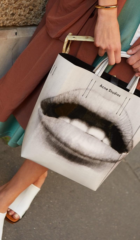 Acne Studios Baker Tote Bag