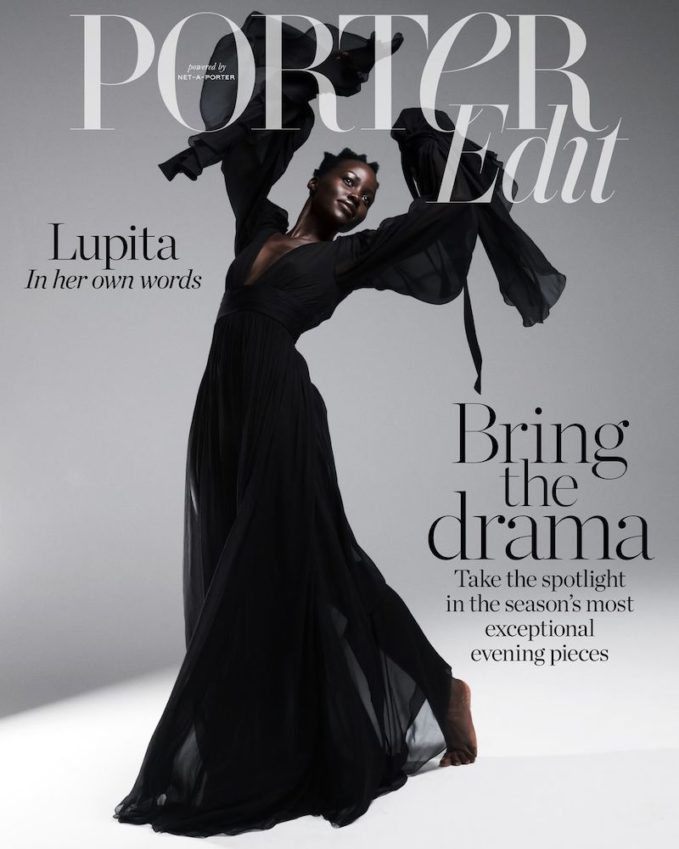 Drama Queen: Lupita Nyong'o for The EDIT