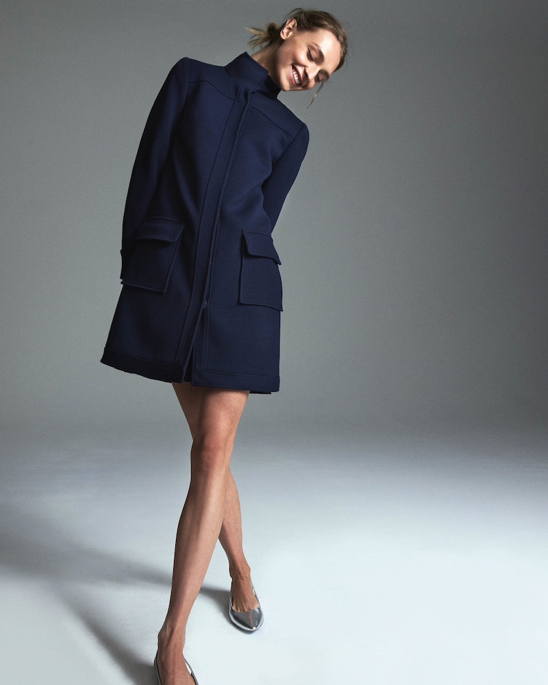 Lisa Perry Snazzier Wool Coat