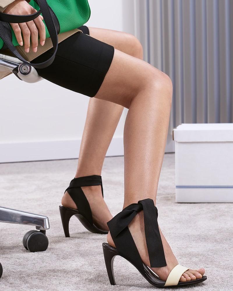 Proenza Schouler Knit Strap Sandals