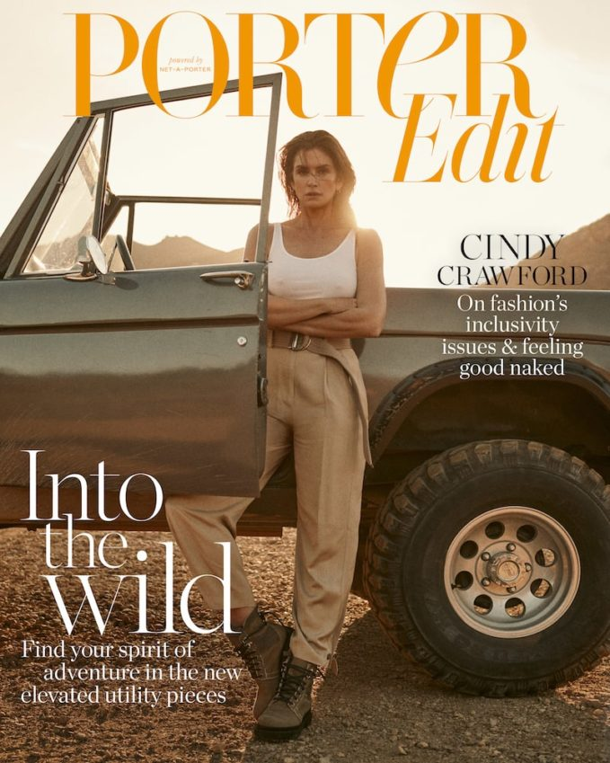Super Natural: Cindy Crawford for The EDIT
