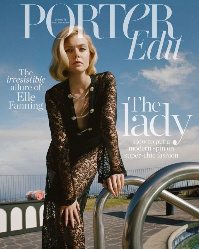 The Darling Girl: Elle Fanning for The EDIT