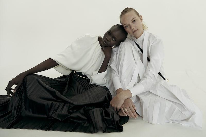 Valentino Cape-effect Silk-crepe Blouse