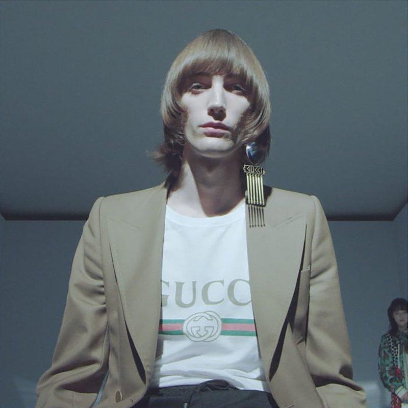 Gucci Double-Breasted Twill Blazer