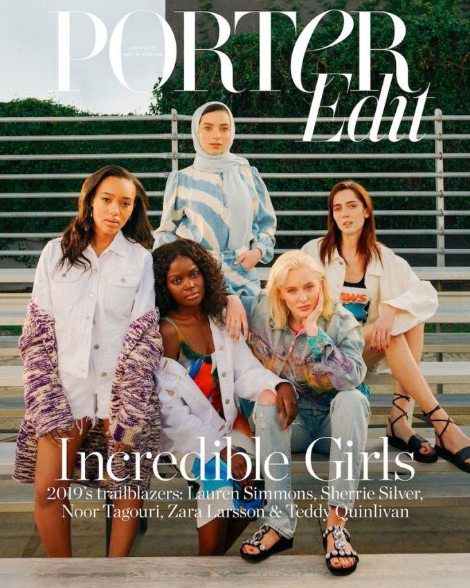 Here Come The Girls: Zara Larsson, Teddy Quinlivan, Sherrie Silver, Lauren Simmons & Noor Tagouri for The EDIT