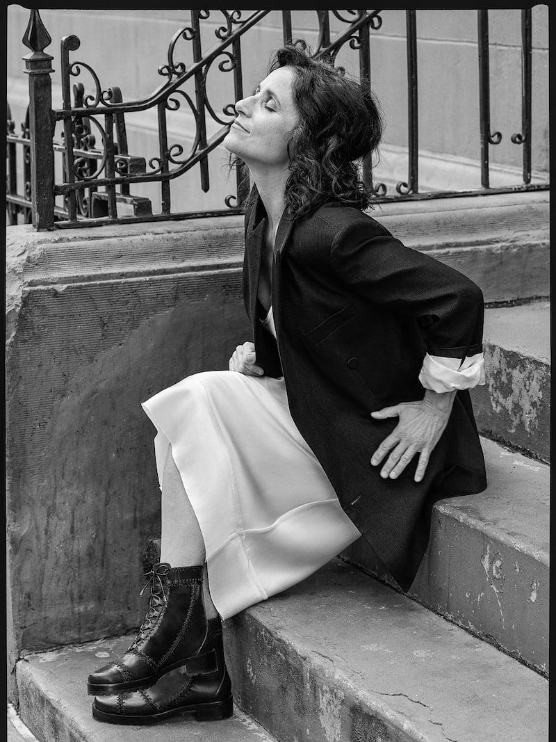 Isabel Marant Meagan Oversized Satin-Trimmed Woven Blazer