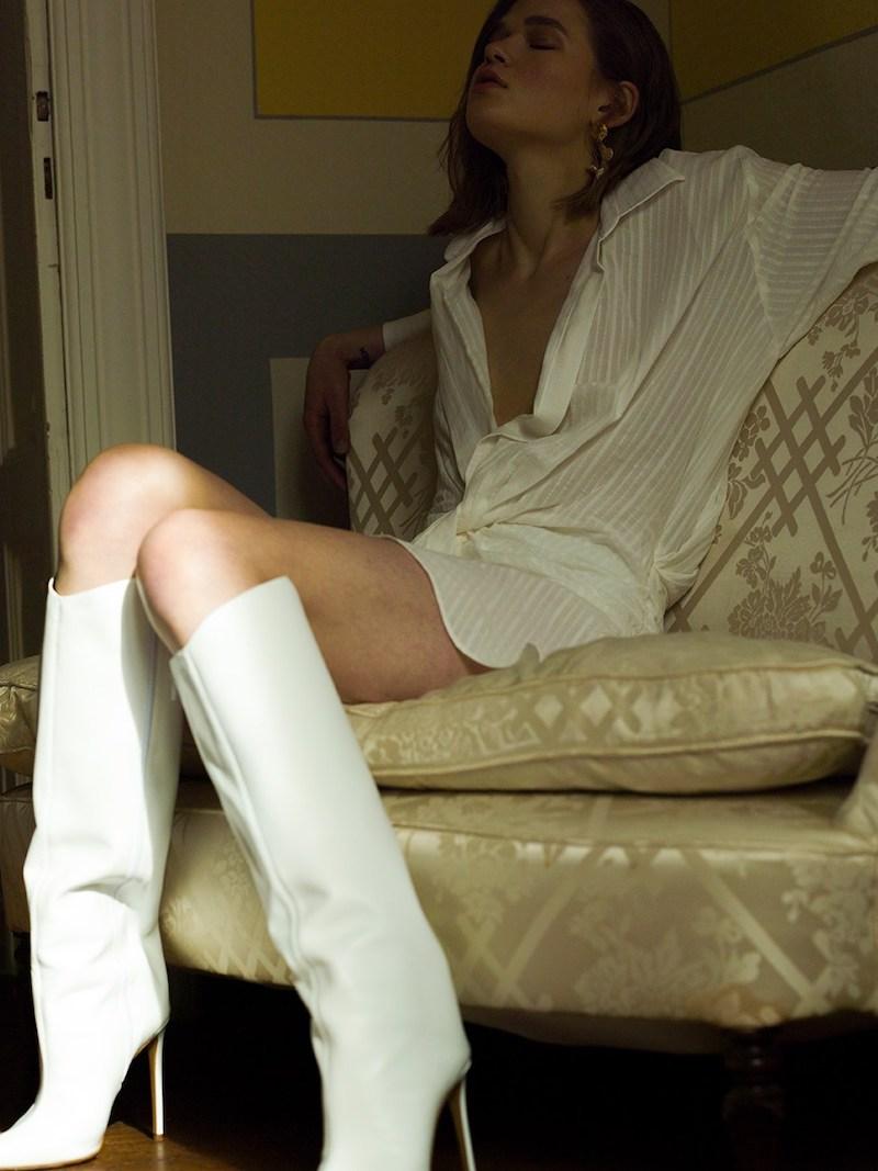 Jacquemus La Robe Alassio Cotton Blend Shirt Dress