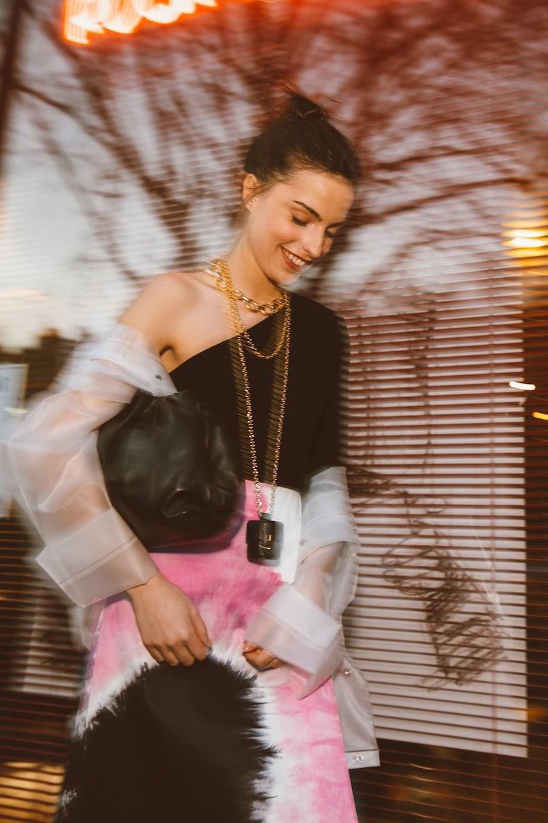 Prada Wrap Midi Skirt