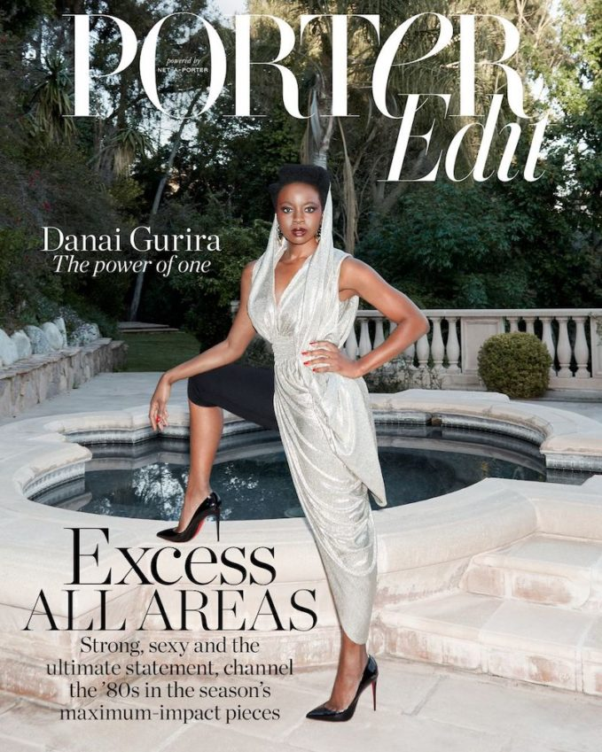 Standing Strong: Danai Gurira for The EDIT