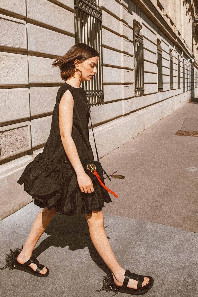 Valentino Micro-faille Short Dress
