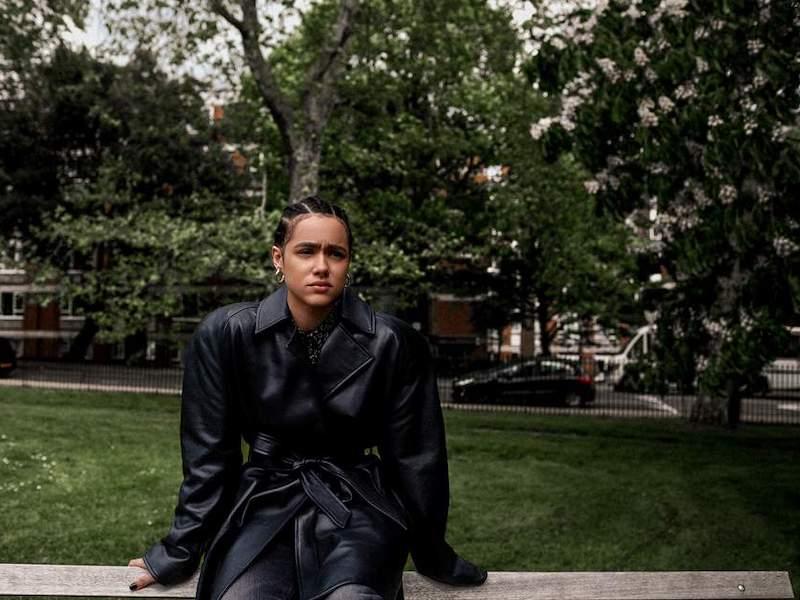 Balenciaga Belted Leather Jacket