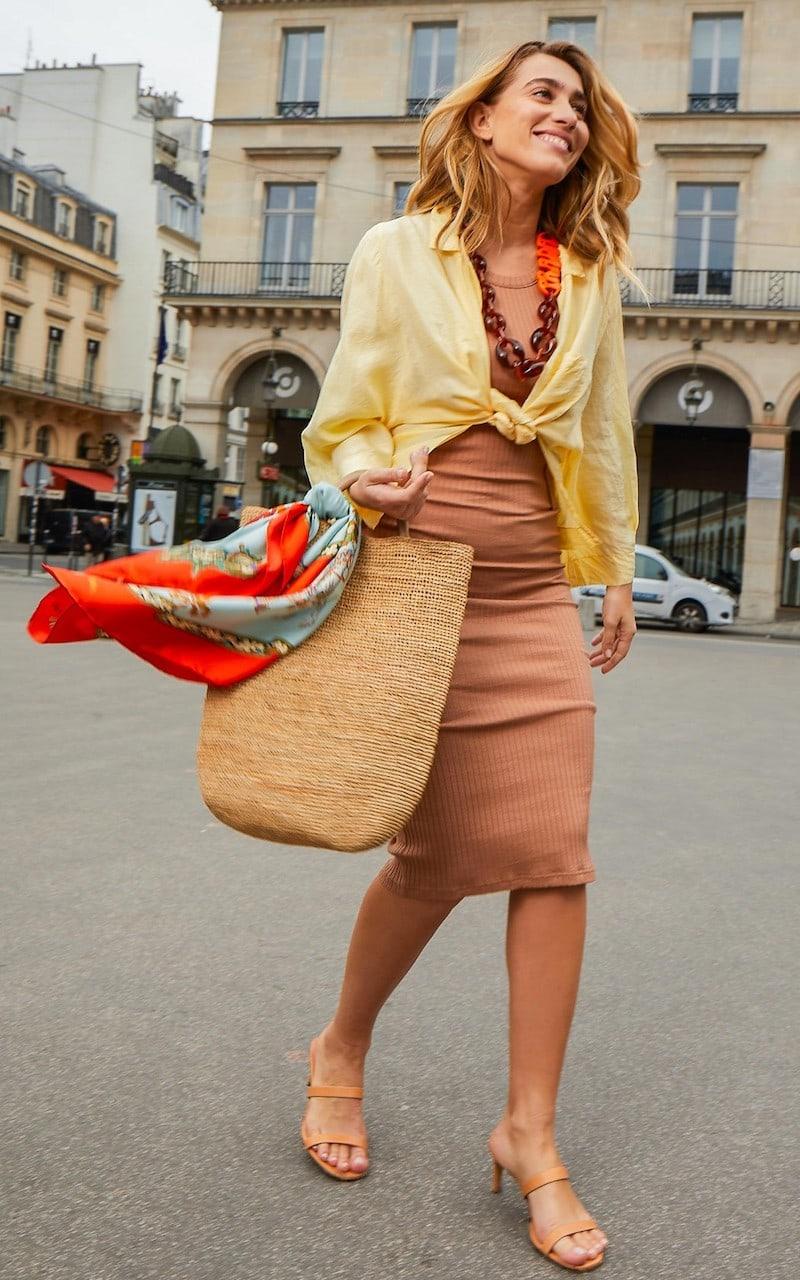 Courreges Cotton Midi Dress